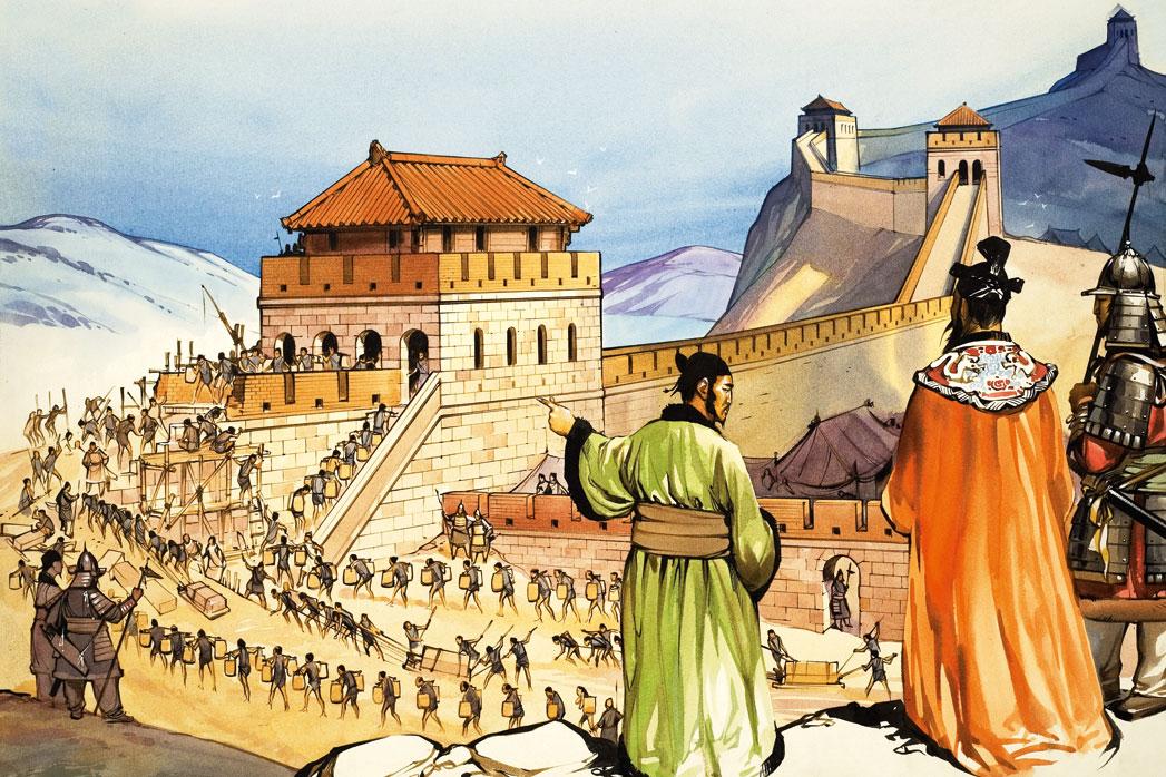 строительство китайской стены